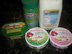 Laughing Cow Alfredo Sauce  1 cup fat free milk, 6 wedges of Laughing Cow Light Cheese, 1 tsp garlic powder 2 Tbsp reduced fat parmesan cheese 1 Tbsp butter, salt & pepper to taste