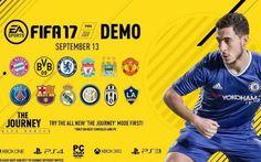 Tutte le novità sulla Demo di Fifa 17 Mancano meno di 100 giorni al rilascio dell'attesissimo nuovo capitolo di Fifa 17 e da poche ore sono stati rivelati i dettagli sulla versione demo che verrà messa a disposizione circa due settimane  #fifa17 #demo