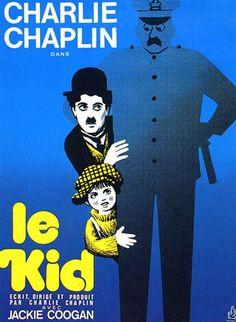 Le Kid : Affiche Charles Chaplin