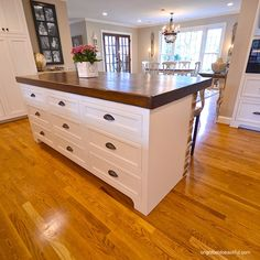 kitchen island ideas butcher