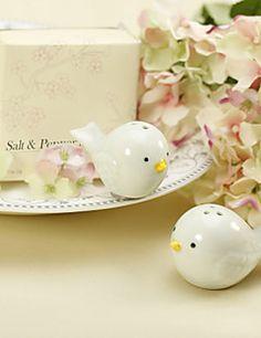 Ceramic Bird's Nest Salt & Pepper Shakers Wedding Favor (Set of 2) – USD $ 1.99