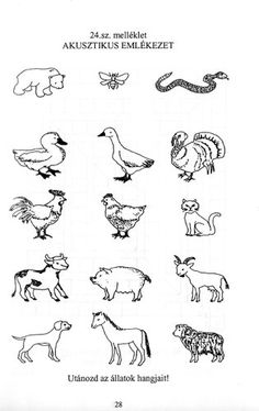 matek feladatlapok óvodásoknak - Google keresés Baby Farm Animals, Special Education, Worksheets, Coloring Pages, Kindergarten, Clip Art, Teaching, School, Google