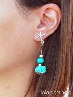 Lola Gominola: Complementos para todas!!! Drop Earrings, Jewelry, Fashion, Bonbon, Crochet Baby, Hipster Stuff, Moda, Jewels, Fashion Styles