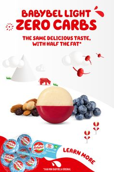 With zero carbs and half the fat of Babybel Original, enjoy the cheesy taste of Babybel Light without the guilt. Tap the Pin to learn more. Easy Snacks, Healthy Snacks, Healthy Kidney Diet, Friendship Stories, Hallmark Greeting Cards, Carter Kids, Life Hacks For School, Diy Outdoor Furniture, Vegetarian Food