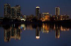 Fort Worth Skyline at Night