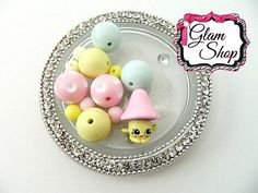 Shopkins EASTER Exclusive Milly Mushroom Bracelet by GlamShopBeads