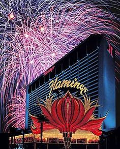 Flamingo Hotel - Las Vegas. Our first stay on the strip. Great location, awful rooms.