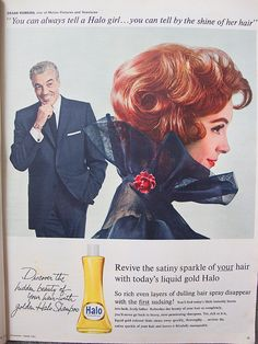 """And by the fact that she's wearing a """"no chew"""" collar. (Funny bad shampoo ads)"""