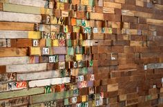 Laurie Frick: A fine line between art and neuroscience wood statistics paper installation collage