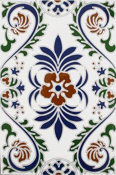 Granada Decorated Field Tiles | Walls and Floors