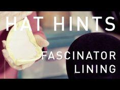 Hat Hints - Fascinator Lining