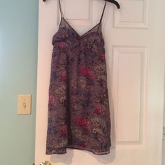 American eagle dress. Sleeveless size 4 Floral American eagle size 4 dress American Eagle Outfitters Dresses Mini