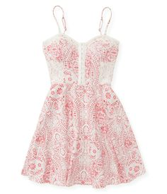 Paisley Fit & Flare Dress :) bought it for my graduation dress and for summer :3