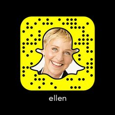Ellen Degeneres, Portia De Rossi, The Ellen Show, Famous People Snapchat, Snapchat Account, Username, Comedians, Interview, Hollywood