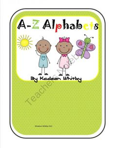 Multipurpose Alphabets product from Kadeen-Whitby on TeachersNotebook.com