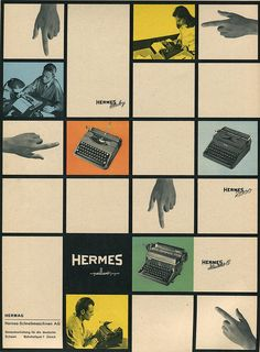 Du 1948-08 Hermes Reklame by shordzi, via Flickr