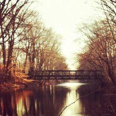 Princeton Canal, toward Quakerbridge Rd