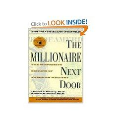Actually really interesting book so far. Shows that millionaires often aren't what you would expect! They live well below their means.
