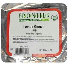 Frontier Lemon Ginger Tea (1x1lb )