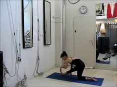 Warm Up and Stretches For Aerial Acrobatics - Beginners - Aerial Tutorial - YouTube GOOD video!!!