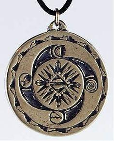 Amulet: Personal Power and Balance Medicine Wheel Talisman - Positivity, Harmony Spell Amulets - Amulets & Talismans - Wiccan Jewelry - Meta Pot