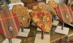 Terra Rustica Design: Unique craft fair jewelry stands: Tutorial