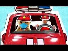 liedje muziek en dans De brandweer - YouTube