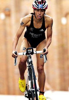 Kiwi triathlete, Andrea Hewitt