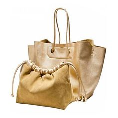 Barbera - Luxury Leather Gold / Silver / Black Designer Handbag