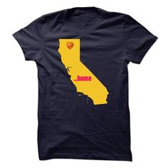 California will always be home T-Shirts, Hoodies, Sweatshirts, Tee Shirts (19$ ==► Shopping Now!)