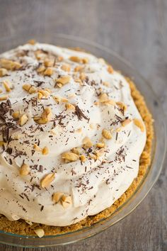 Banoffee Pie -- so easy and so good!