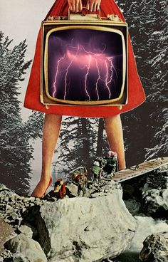 Stormy Weather Ahead #Collage