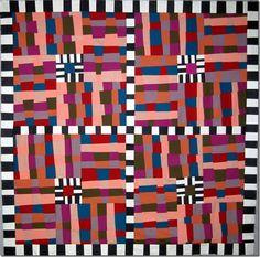 Improvisational quilt by Kay Koeper Sorensen | Quilts + Color blog