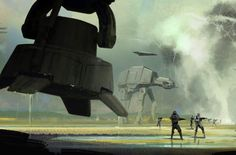 Star-Wars-Rogue-One-Concept-Art-Matt-Allsopp-09-Scarif-AT-AT.jpg (Image JPEG, 1080 × 711 pixels)