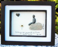 God's love...pebble art by BeginAgainCreative on Etsy