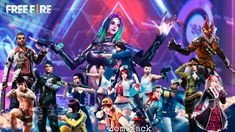 Todos os personagens de Free Fire Imagenes Free, Squad Game, 480x800 Wallpaper, Free Avatars, Fire Image, King Do, 4k Wallpaper For Mobile, Fire Art, Gaming Wallpapers