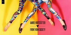 Front Row Society Leggings Collection on Behance