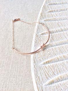 Wedding bracelet tie the knot bracelet by JaneAkesterDesigns