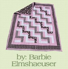 Baby Rail Fence Quilt