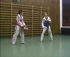 Taekwondo drill training