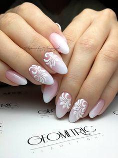Geometric Art, Nails, Painting, Finger Nails, Ongles, Painting Art, Nail, Paintings, Nail Manicure