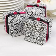 Damask 2 piece Favor Boxes click here to buy: http://bit.ly/1yoNIC4