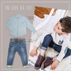 Petit homme s'habille bien ! #troc #échange #vêtements #occasion #enfants #fashion #kids #clothe #spring #summer #season #printemps #été #jean #chemise #timberland #zara