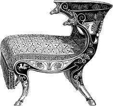 Curule Chair | ClipArt ETC