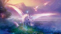 Fonds d'écran Fantasy et Science Fiction > Fonds d'écran Créatures : Licornes - Pégases Wallpaper N°334846 par le-disparu - Hebus.com