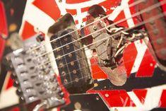 Unique Guitars, Floyd Rose, White Spray Paint, Eddie Van Halen, Rage Against The Machine, Museum Exhibition, Buy Tickets, Led Zeppelin, Guitar