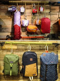 I keep in mind camping when I was a kid. I only had the barest of necessities-- a sleeping bag, a box of matches, my knife and a great outdoor camping lantern. Retail Wall Displays, Shop Window Displays, Display Window, Bag Display, Visual Display, Patagonia Store, Hiking Store, Clothing Store Displays, Outdoor Store