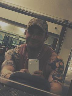 Tom Hardy selfie :)