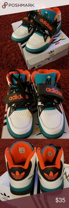 Adidas Mutombo TR block Adidas excellent condition like new size 9  Reasonable offers welcome adidas Shoes f7afb6872f