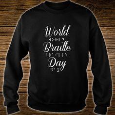 This T-Shirt Make by Honor World Braille Day World Braille Day, Keyword Ranking, Website Analysis, Social Media Digital Marketing, Seo Agency, Search Engine Marketing, Sweatshirts, T Shirt, Supreme T Shirt